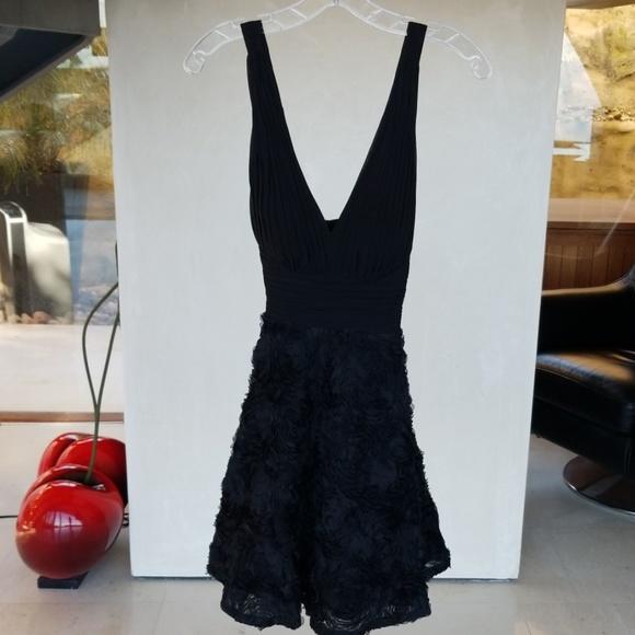 Aidan Mattox Dresses & Skirts - Black Halter cocktail dress